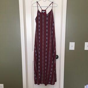 Full Length Maxi Boho Dress